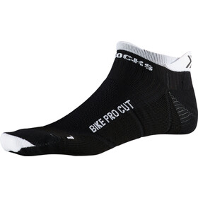 X-Socks Bike Pro Cut Calcetines, black melange